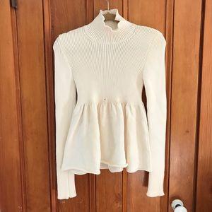 MiuMiu babydoll sweater